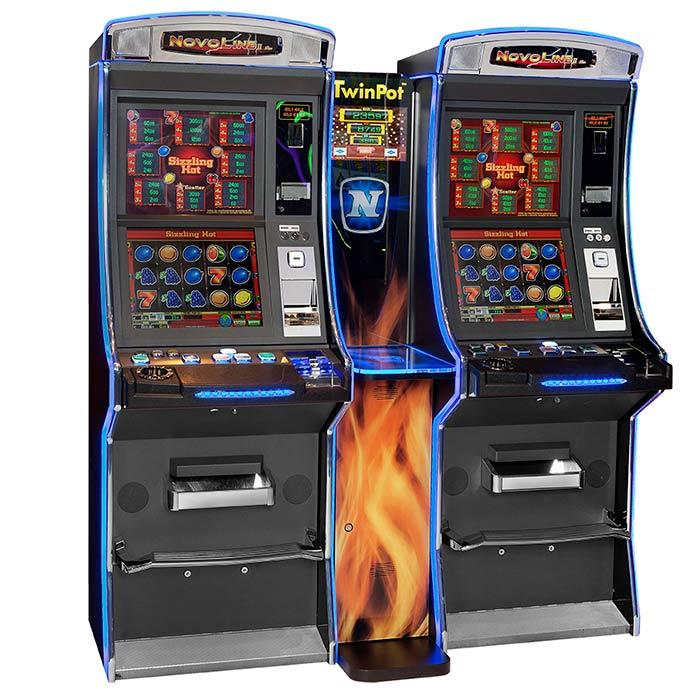 Novo Line Bar Twin Pot: Máquina tragaperras de Slots Bar Machines