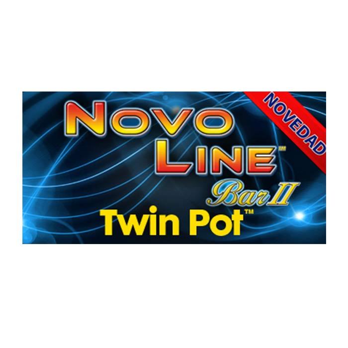Novo Line Bar Twin Pot de Slots Bar Machines