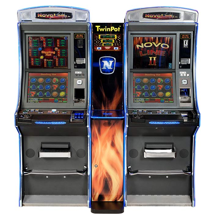 Novo Line Bar Twin Pot: Máquina tragaperras de Slots Bar Machines