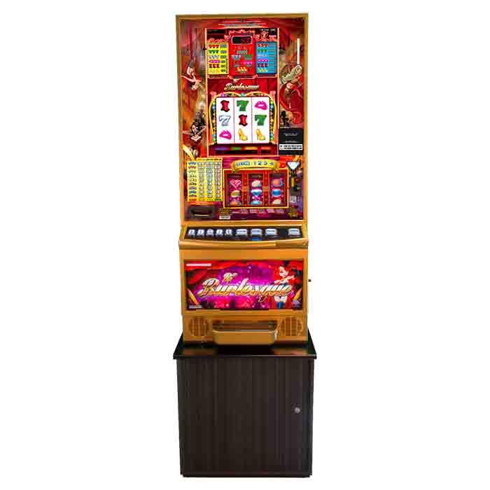 Rf Burlesque: Máquina tragaperras de Slots Bar Machines