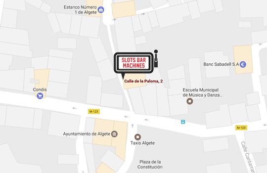 Máquinas slotsbar en Madrid